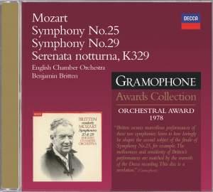 Mozart: Symphonies Nos 25 & 29