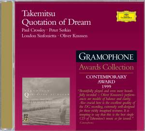 Takemitsu: Quotation of Dream