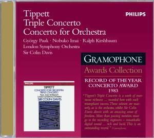 Tippett: Triple Concerto and Concerto for Orchestra