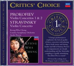 Prokofiev & Stravinsky: Violin Concertos