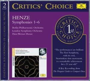 Henze, H: Symphonies Nos. 1 - 6
