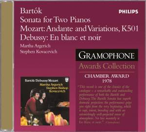 Bartók: Sonata for Two Pianos & Percussion, BB 115, Sz. 110, etc.