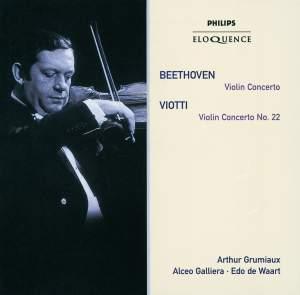 Beethoven: Violin Concerto & Viotti: Violin Concerto No. 22