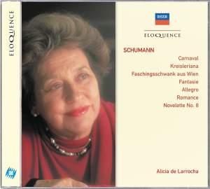 Schumann: Kreisleriana, Carnaval, Faschingsschwank aus Wien & other piano pieces