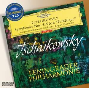 Tchaikovsky: Symphonies Nos. 4 - 6 Product Image