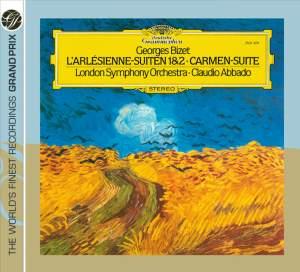Bizet: L'Arlesienne Suites Nos. 1 & 2 and Carmen Entr'actes