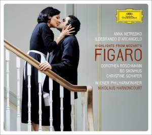 Mozart: Le nozze di Figaro, K492 (highlights) Product Image