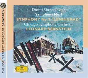 Shostakovich - Symphonies Nos. 1 & 7 Product Image