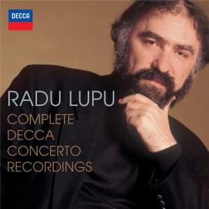 Radu Lupu: The Complete Decca Concerto Recordings