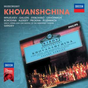 Mussorgsky: Khovanshchina Product Image
