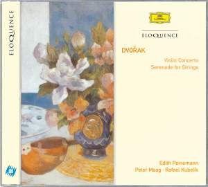 Dvorak: Violin Concerto & Serenade for Strings