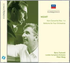Mozart: Horn Concertos & Notturno