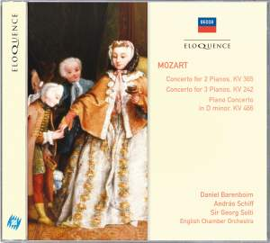 Mozart: Concerto for 2 Pianos and Orchestra No. 10 in E flat, K365, etc.