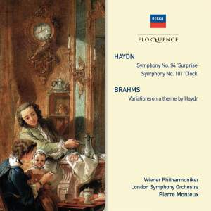 Pierre Monteux conducts Haydn & Brahms Product Image