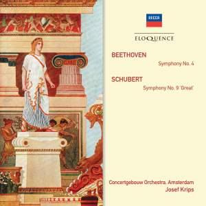 Josef Krips conducts Beethoven & Schubert