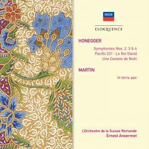 Honegger: Symphonies Nos. 2-4, Pacific 231, Le Roi David & Cantata de Noel