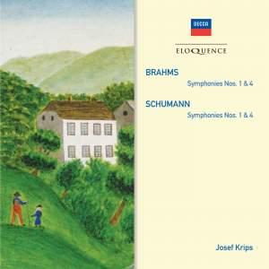 Brahms & Schumann: Symphonies Nos. 1 & 4 Product Image