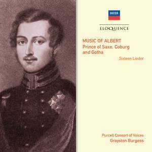 Music of Albert: Prince of Saxe, Coburg und Gotha