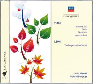 Verdi: Ballet music from Opera & Leoni: The Prayer and the Sword