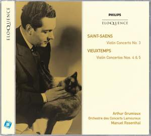 Saint-Saëns: Violin Concerto No. 3 & Vieuxtemps: Violin Concertos Nos. 4 & 5