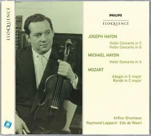 Joseph & Michael Haydn: Violin Concertos