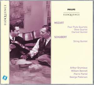 Mozart: Wind Quintets & Schubert: String Quintet in C major