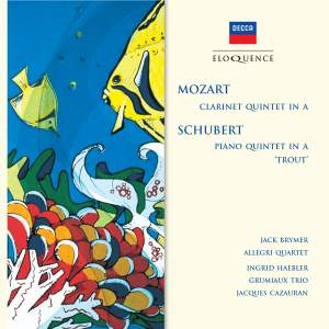 Mozart: Clarinet Quintet & Schubert: Piano Quintet