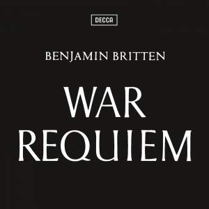 Britten War Requiem - 2013 HD Remaster on CD & Blu-ray Audio