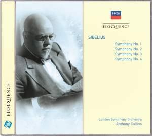 Sibelius: Symphonies Nos. 1 - 4