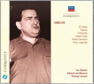 Sibelius: En Saga, Tapiola & other orchestral works