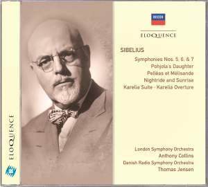 Sibelius: Symphonies Nos. 5, 6 & 7 and other orchestral works