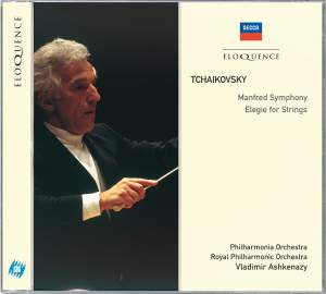 Tchaikovsky: Elegy for strings & Manfred Symphony