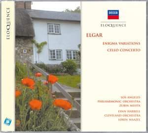 Elgar: Enigma Variations & Cello Concerto