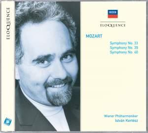 Mozart - Symphonies Nos. 33, 39 & 40
