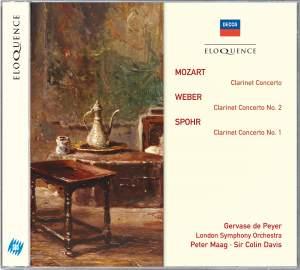 Mozart / Weber / Spohr - Clarinet Concertos