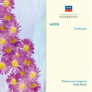 Haydn: Minuets (24), Hob.IX:16