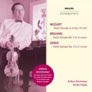 Arthur Grumiaux plays Mozart, Greig, Brahms