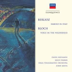 Berlioz: Harold en Italie & Bloch: Voice in the Wilderness Product Image
