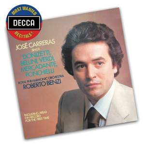 José Carreras sings Arias