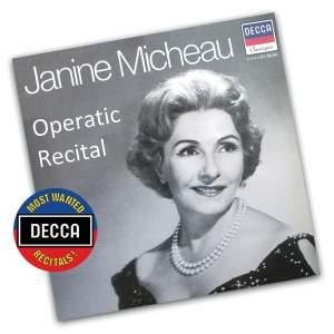 Janine Micheau - Operatic Recital