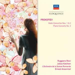 Prokofiev: Violin Concertos Nos. 1 & 2 and Piano Concerto No. 3