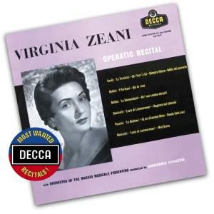 Virginia Zeani - Operatic Recital Product Image