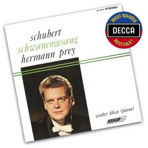 Schubert: Schwanengesang and other songs