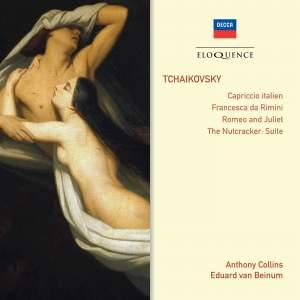 Tchaikovsky: Capriccio Italien. Francesca da Rimini, Romeo and Juliet & Nutcracker Suite Product Image