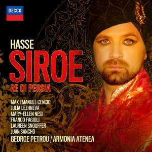 Hasse, J A: Siroe re di Persia Product Image