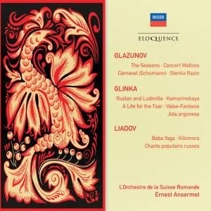Glazunov, Glinka & Liadov: Orchestral Works