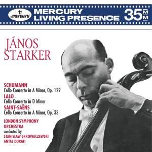 Schumann, Lalo & Saint-Saëns: Cello Concertos