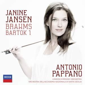Brahms & Bartók: Violin Concertos Product Image