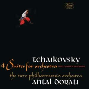Tchaikovsky: Suites Nos. 1-4