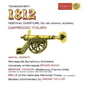 Tchaikovsky: 1812 Festival Overture & Capriccio Italien